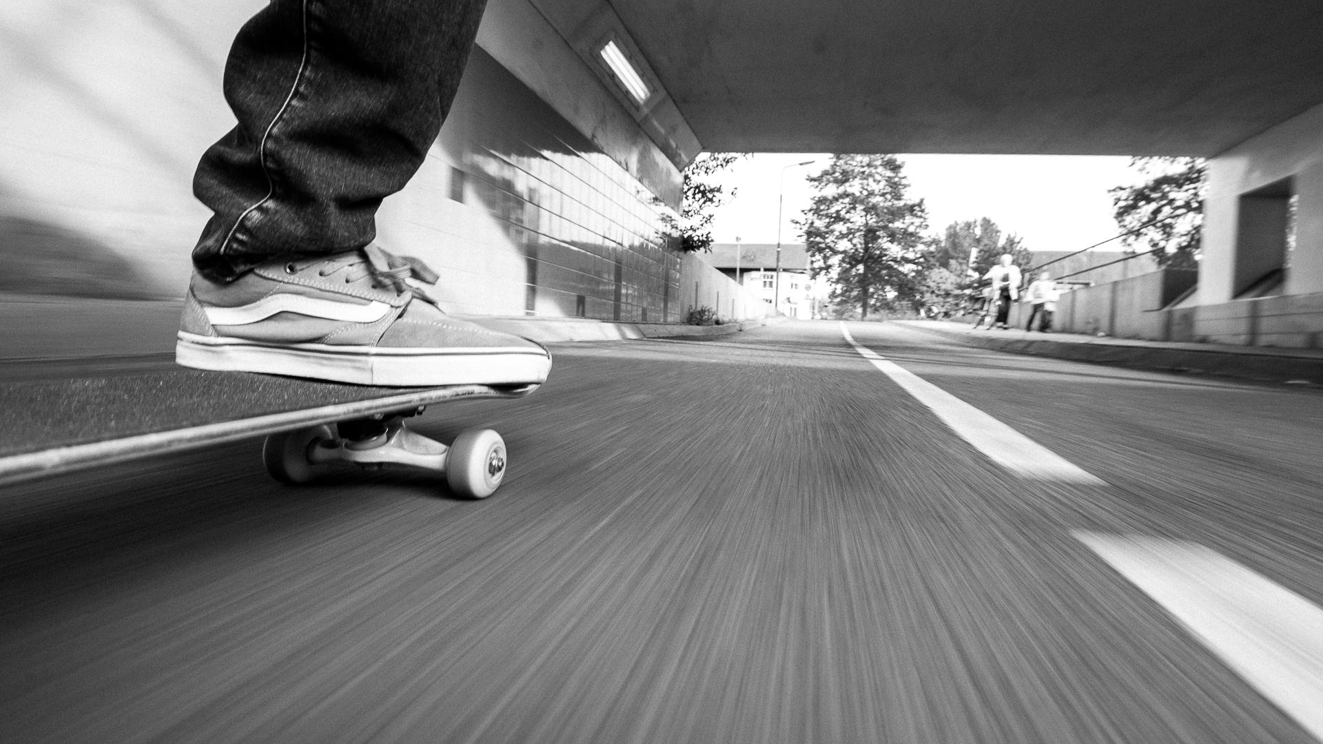 """Januari 2017 Paul Kastelein """"Rolling Scateboard"""""""
