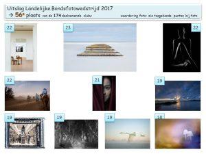 Fotos bondsfotowedstrijd 2017