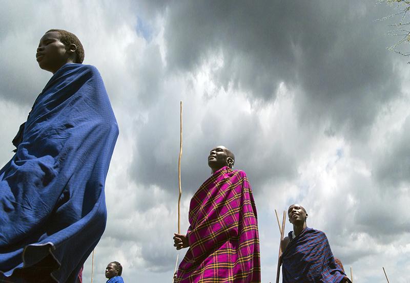 """2de plaats Mensen - Paul Appelman """"Dansende Masai"""""""