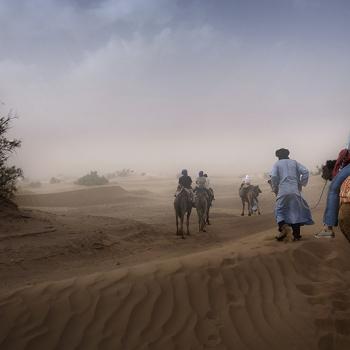 Albertine Boere, kamelentocht