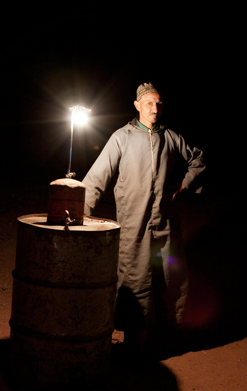 PF Lidy - gids in zoutmijn Marokko