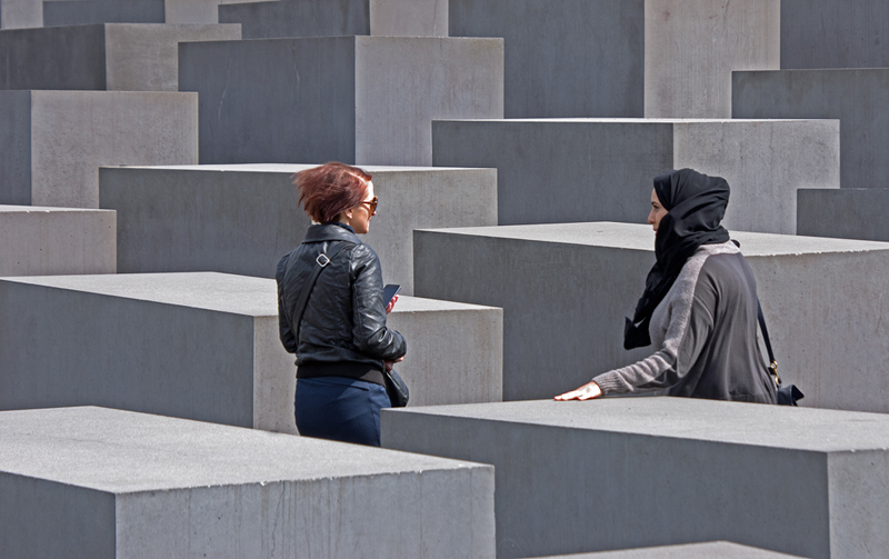 Ad van Hulten - Berlijn holocaustmonument