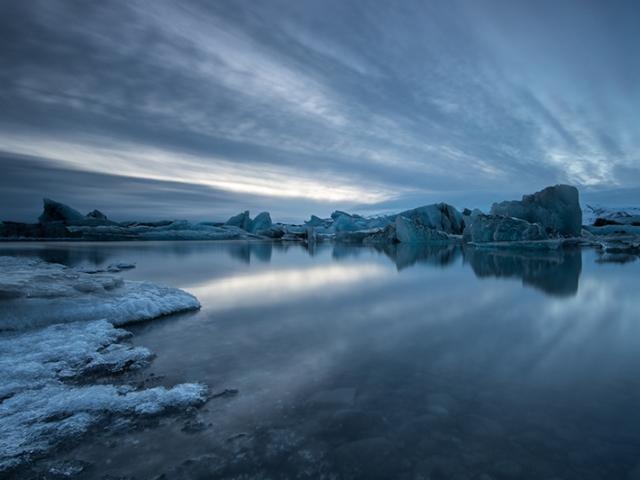 """2de plaats Landschap en Natuur - Peter van Haastrecht """"Glacier Bay Ijsland"""""""